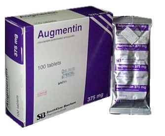 can augmentin cause acid reflux
